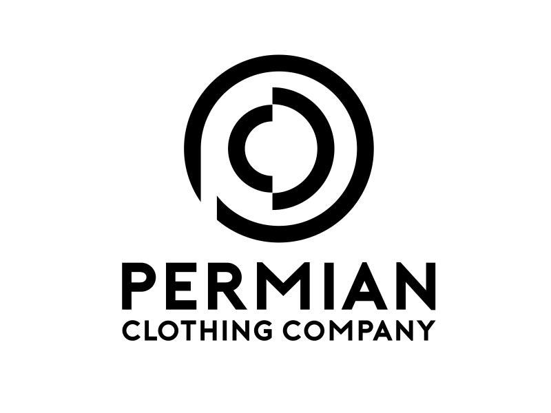 PCC    Permian Clothing Company logo design by serprimero