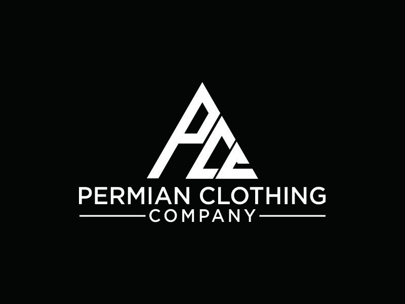 PCC    Permian Clothing Company logo design by epscreation