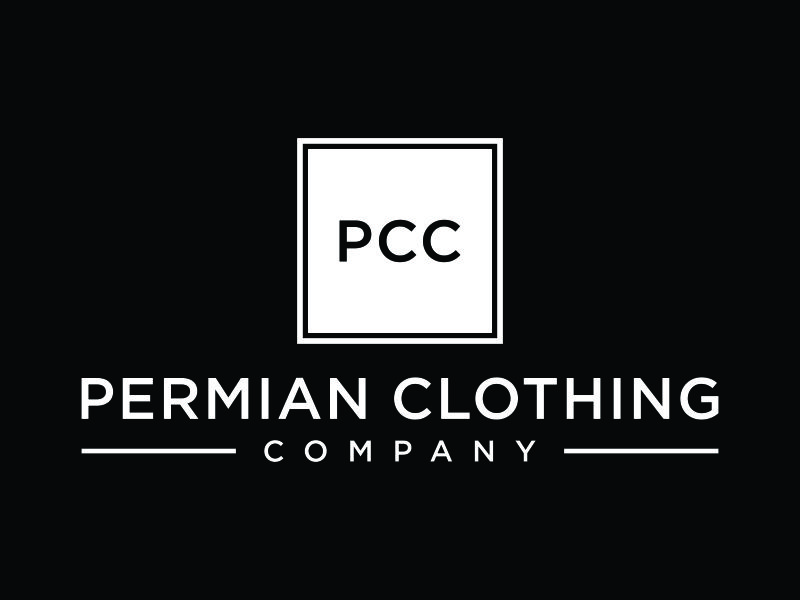 PCC    Permian Clothing Company logo design by christabel