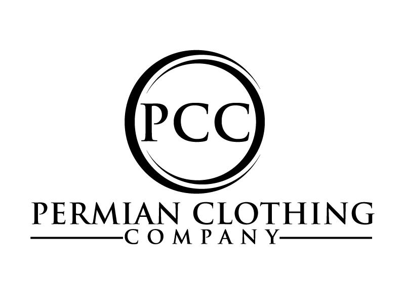 PCC    Permian Clothing Company logo design by ElonStark