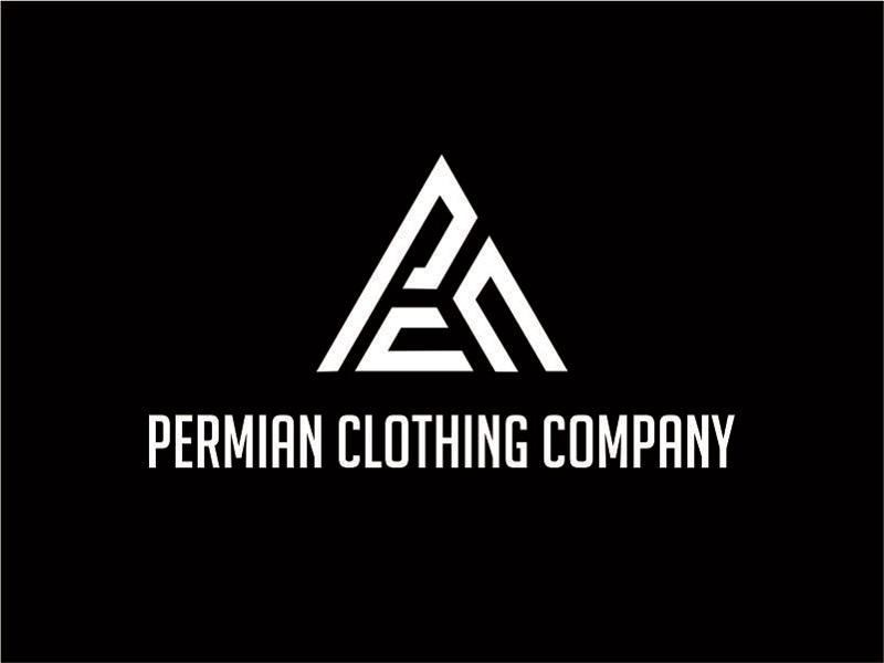 PCC    Permian Clothing Company logo design by Nurramdhani