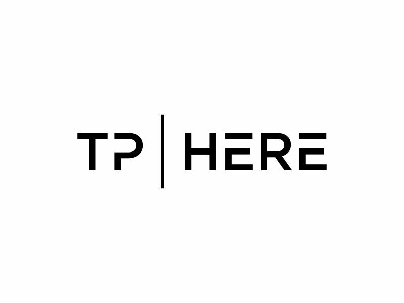 TP HERE logo design by EkoBooM