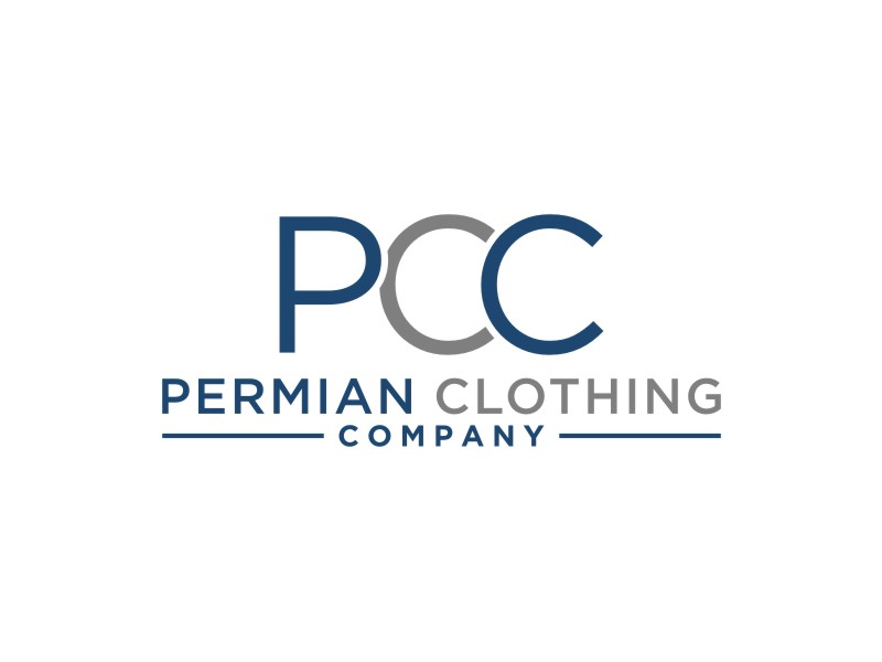 PCC    Permian Clothing Company logo design by Arto moro