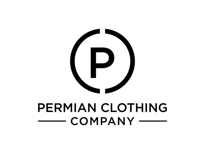 PCC    Permian Clothing Company logo design by Barkah