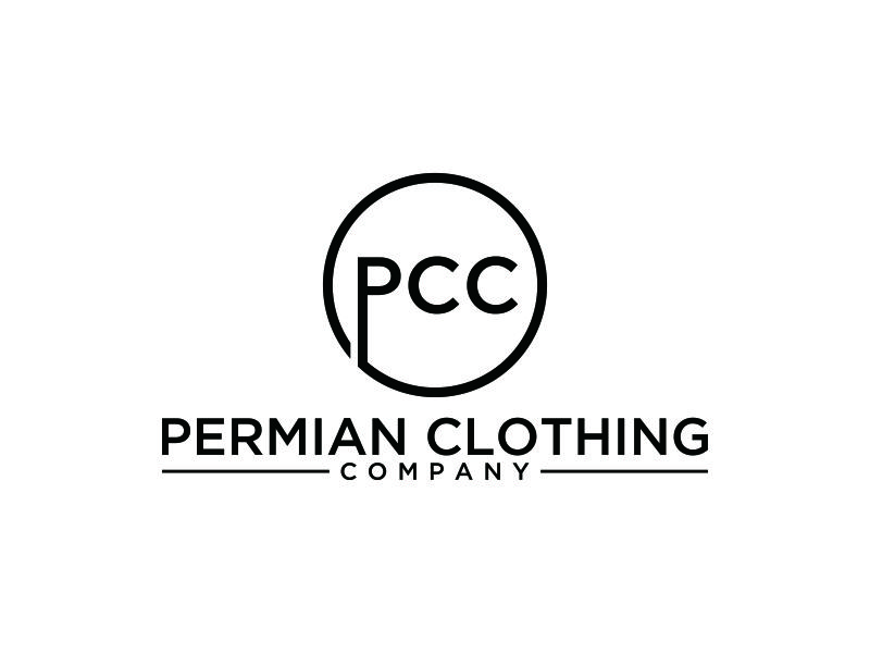 PCC    Permian Clothing Company logo design by blessings