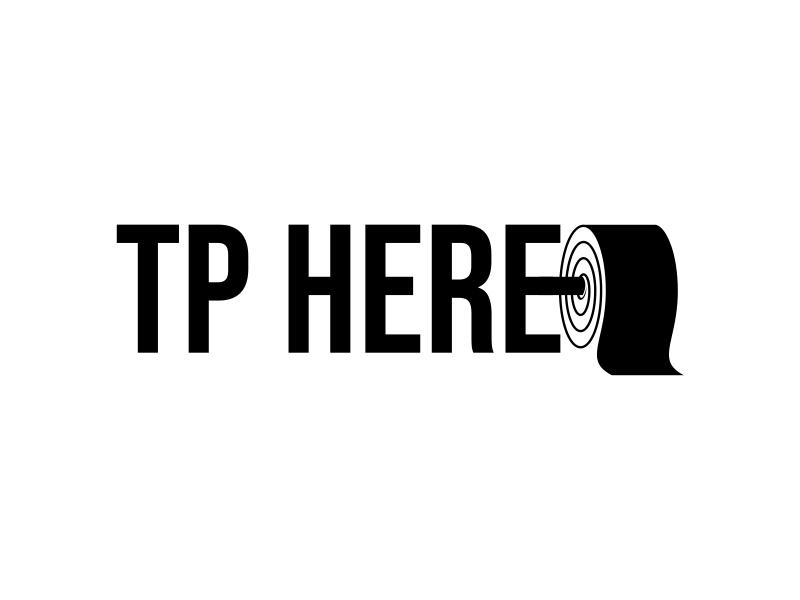 TP HERE logo design by cintoko