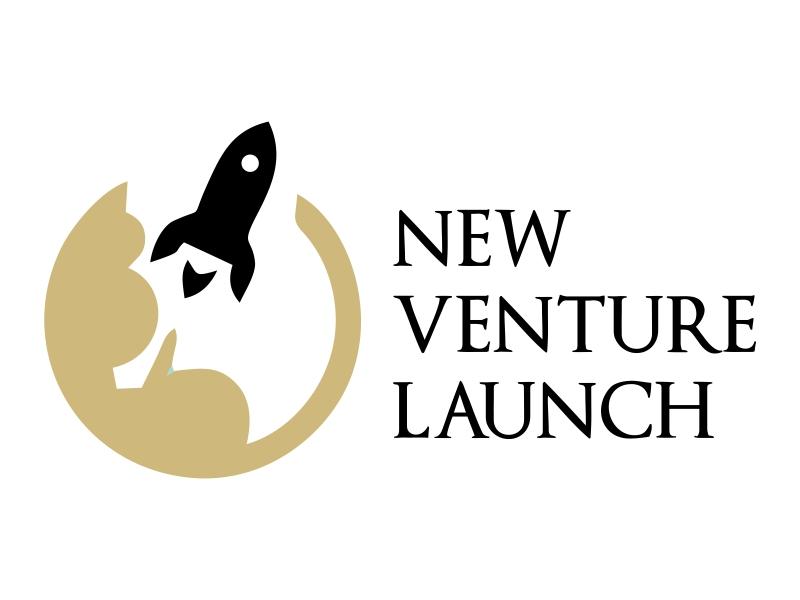 New Venture Launch logo design by JessicaLopes