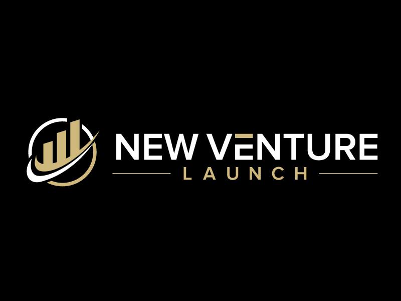 New Venture Launch logo design by jaize