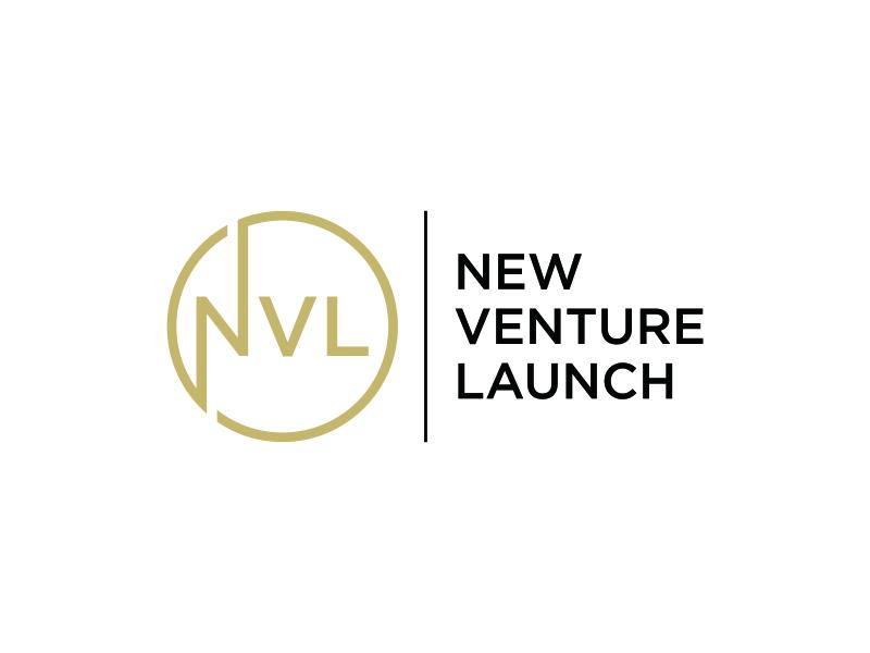 New Venture Launch logo design by pel4ngi