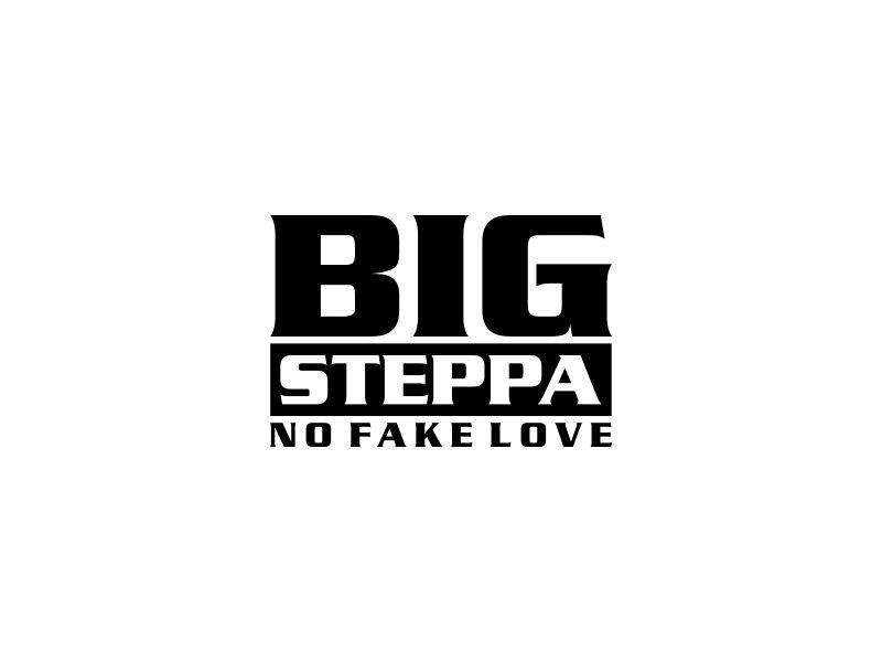 Big Steppa logo design by oke2angconcept