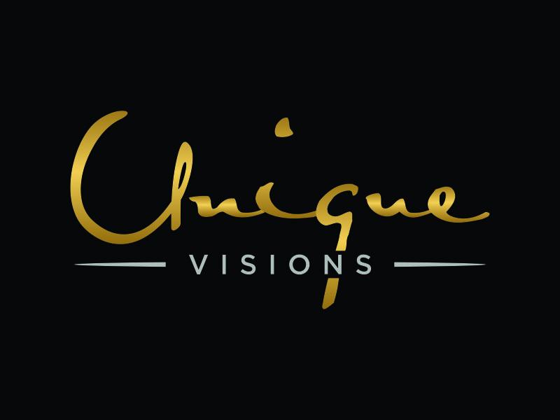 Unique Visions logo design by christabel