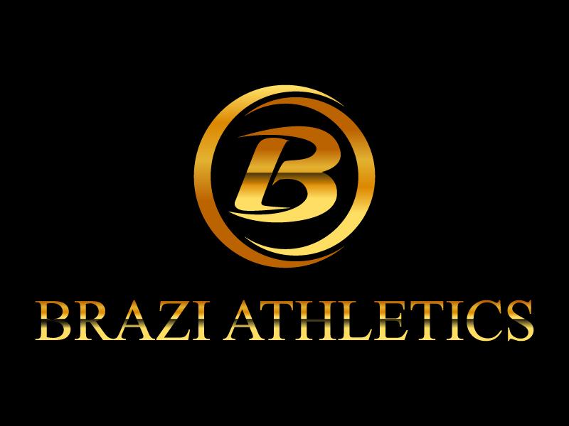 Brazi Athletics logo design by Suvendu