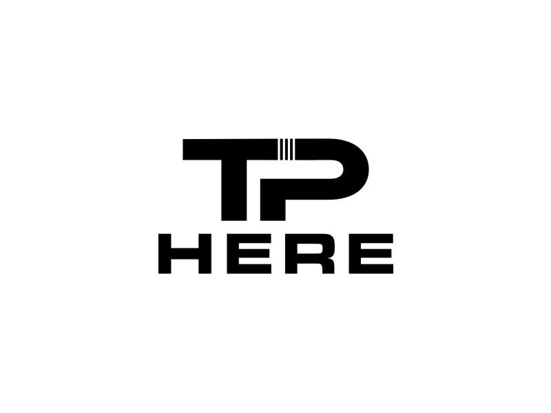 TP HERE logo design by sheila valencia