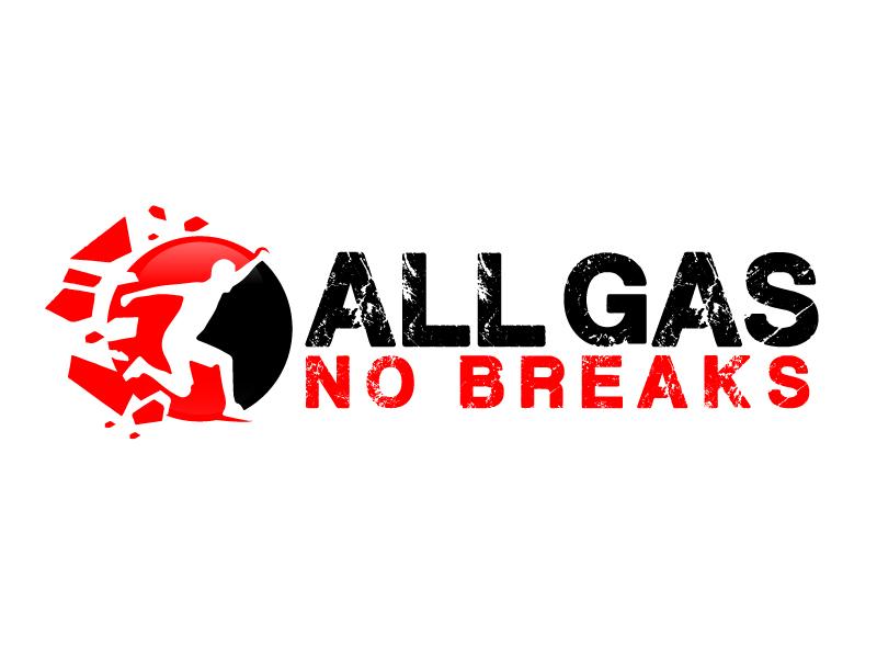 All Gas No Breaks logo design by ElonStark