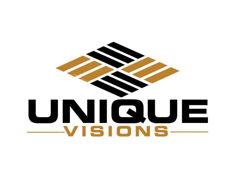 Unique Visions logo design by ElonStark