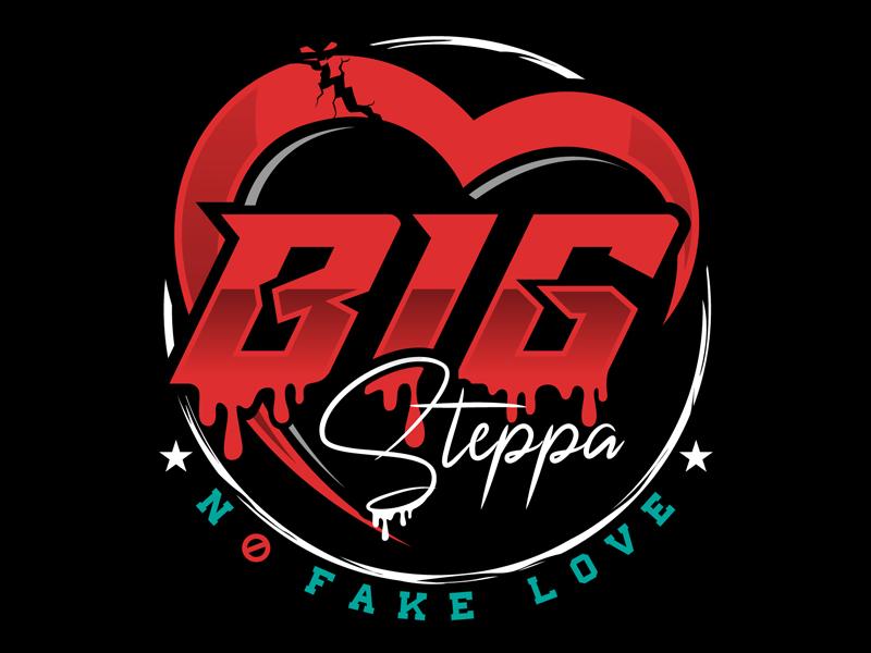 Big Steppa logo design by DreamLogoDesign