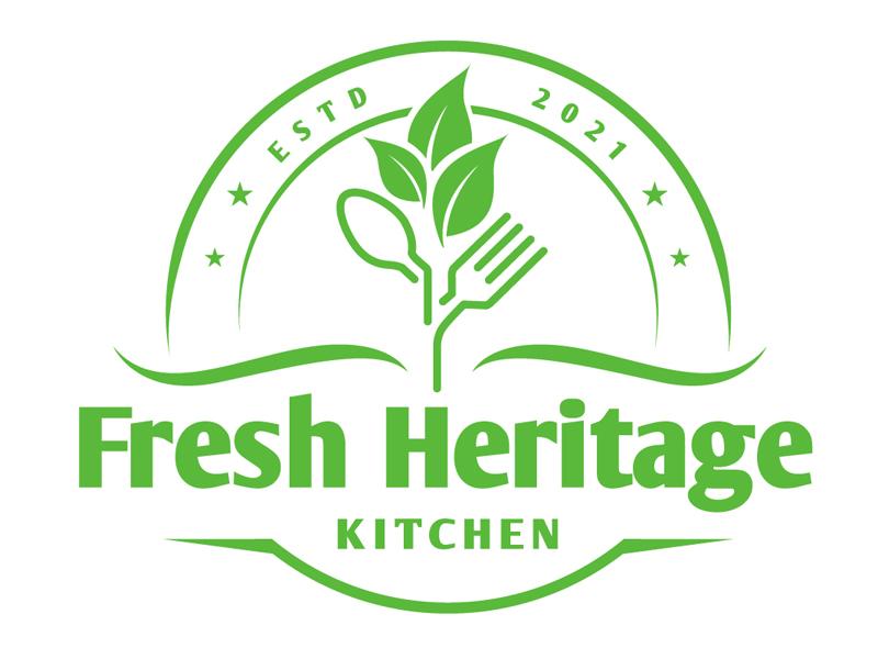 Fresh Heritage Kitchen logo design by DreamLogoDesign