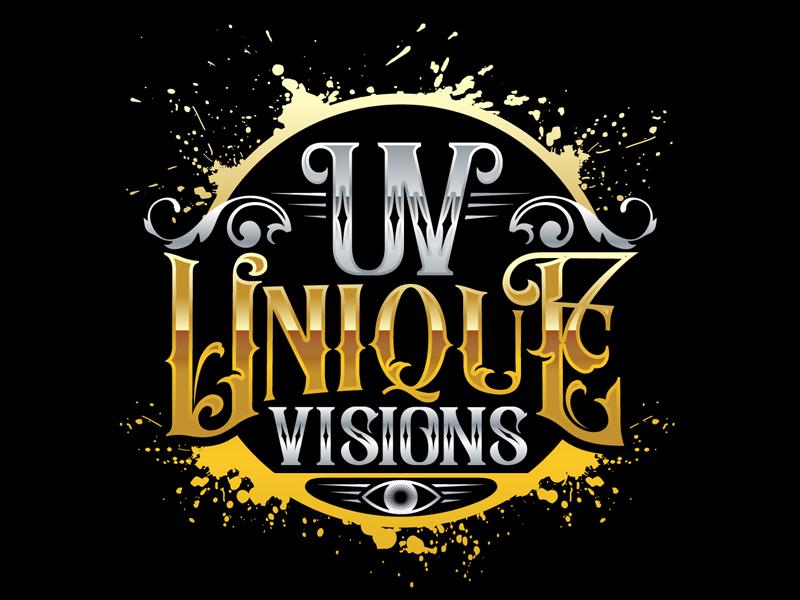 Unique Visions logo design by DreamLogoDesign