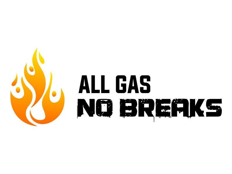 All Gas No Breaks logo design by JessicaLopes