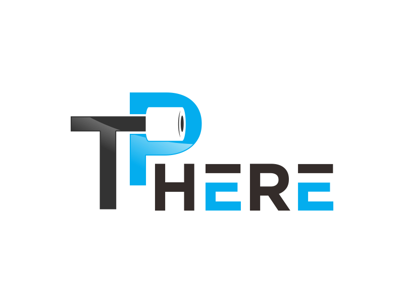 TP HERE logo design by kopipanas