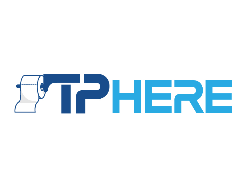 TP HERE logo design by jaize