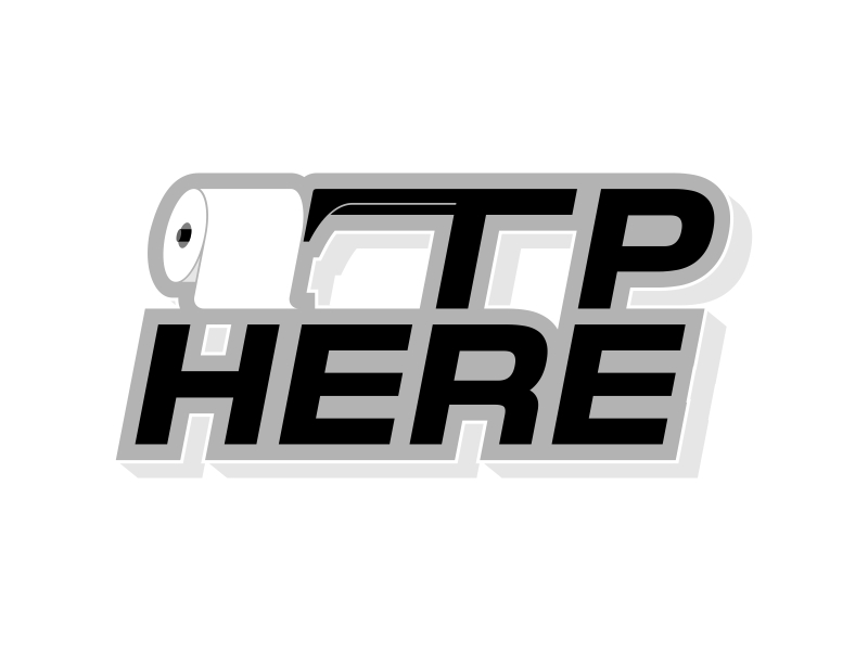 TP HERE logo design by yunda