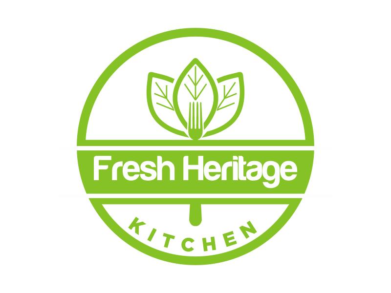 Fresh Heritage Kitchen logo design by cikiyunn