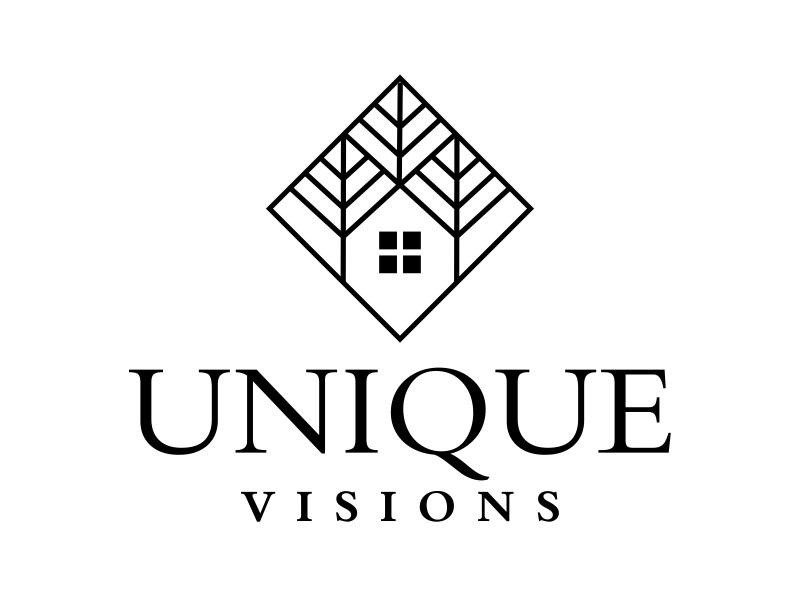 Unique Visions logo design by cikiyunn