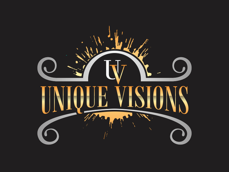 Unique Visions logo design by rokenrol