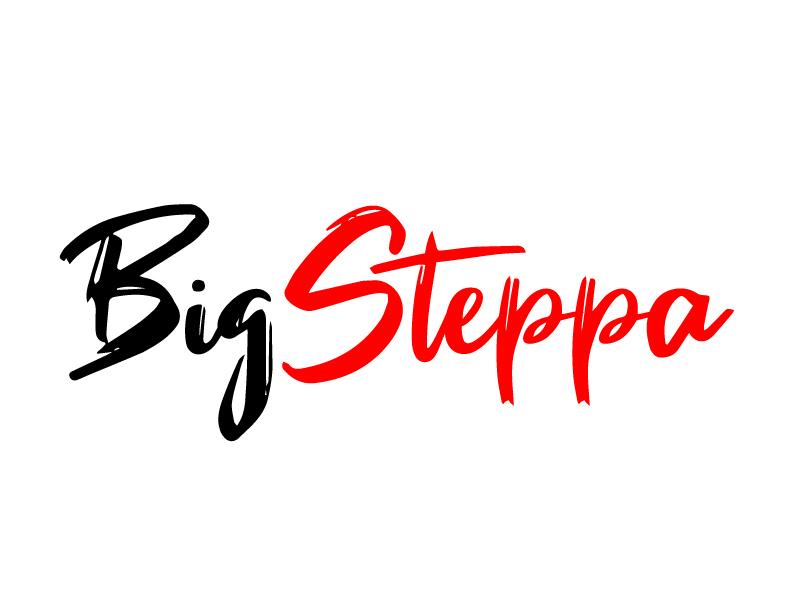 Big Steppa logo design by ElonStark