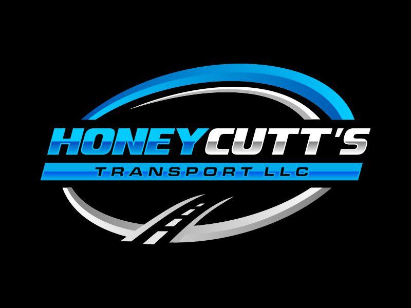 Honeycutt's Transport LLC logo design by Gopil