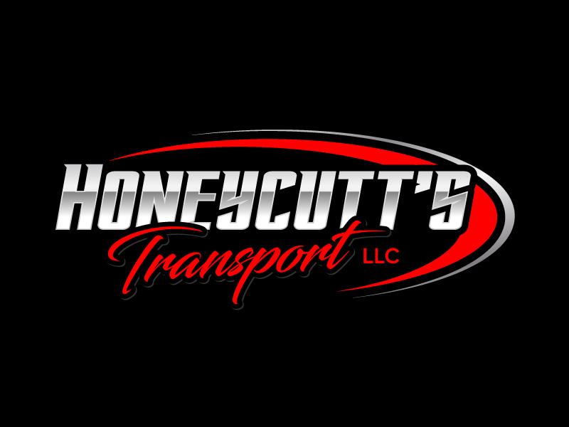 Honeycutt's Transport LLC logo design by jaize