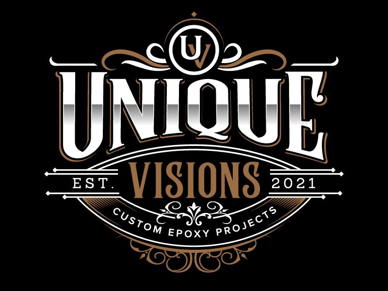 Unique Visions logo design by jaize