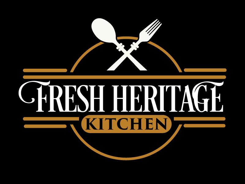 Fresh Heritage Kitchen logo design by ElonStark