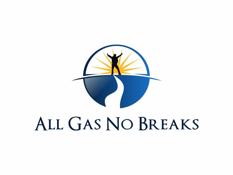 All Gas No Breaks logo design by Greenlight