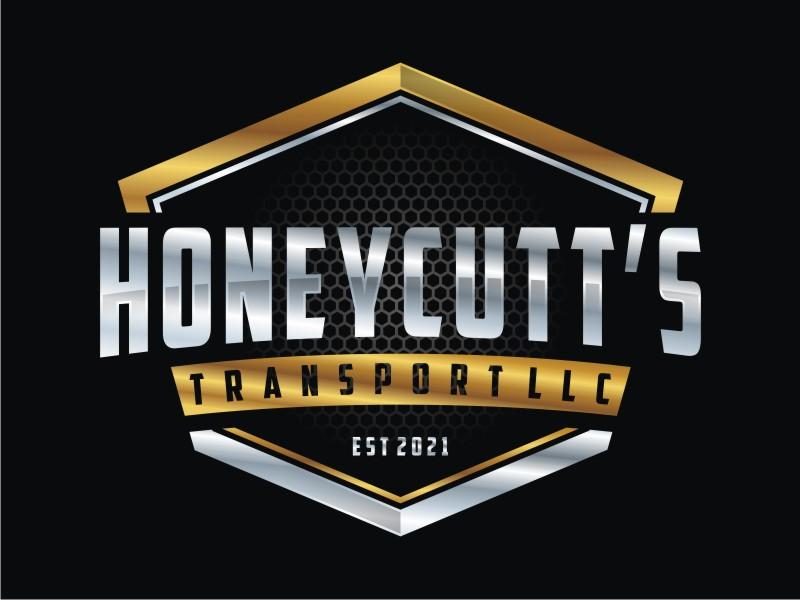 Honeycutt's Transport LLC logo design by Arto moro