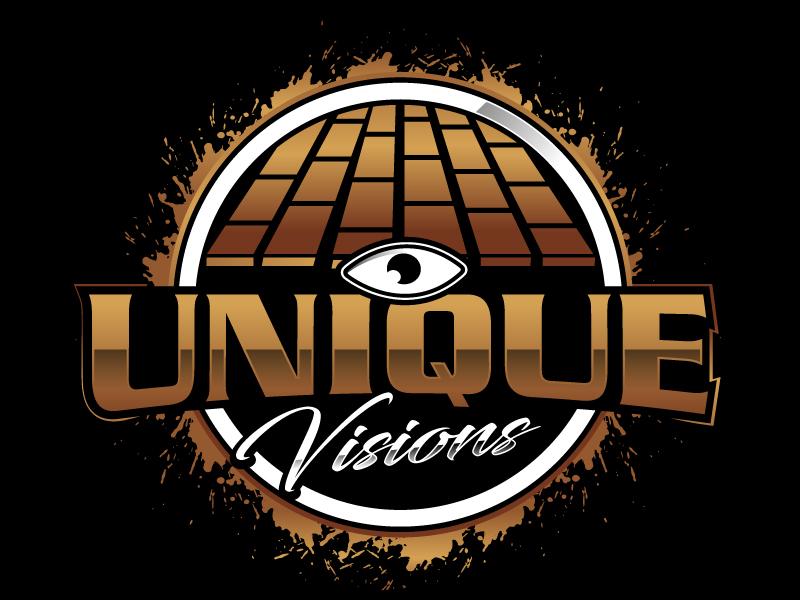 Unique Visions logo design by Suvendu