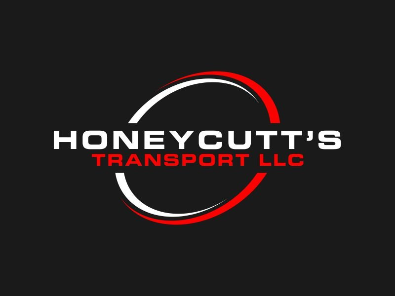 Honeycutt's Transport LLC logo design by bismillah