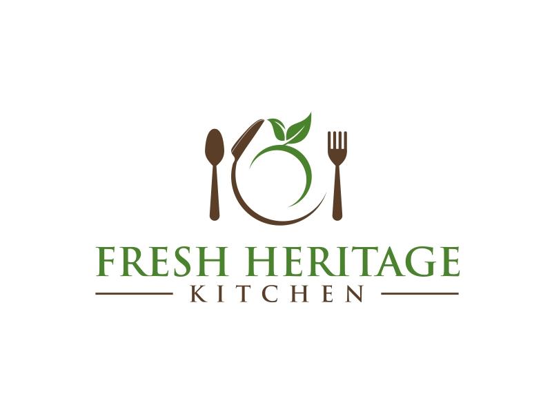 Fresh Heritage Kitchen logo design by GassPoll