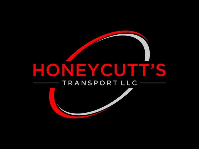 Honeycutt's Transport LLC logo design by mukleyRx