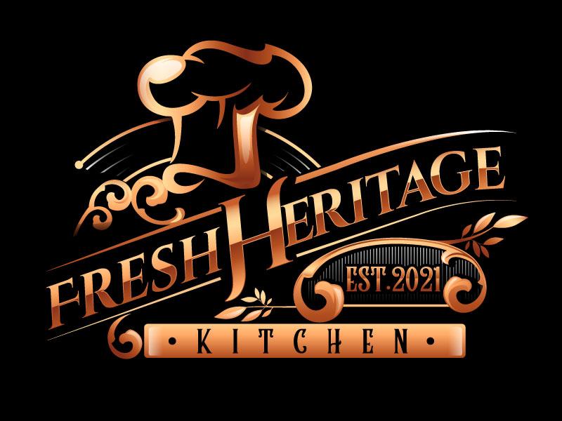 Fresh Heritage Kitchen logo design by usashi