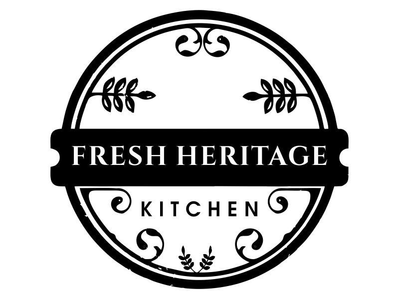 Fresh Heritage Kitchen logo design by JessicaLopes