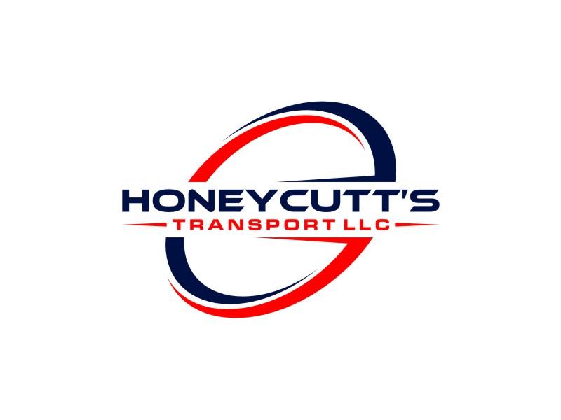 Honeycutt's Transport LLC logo design by alby
