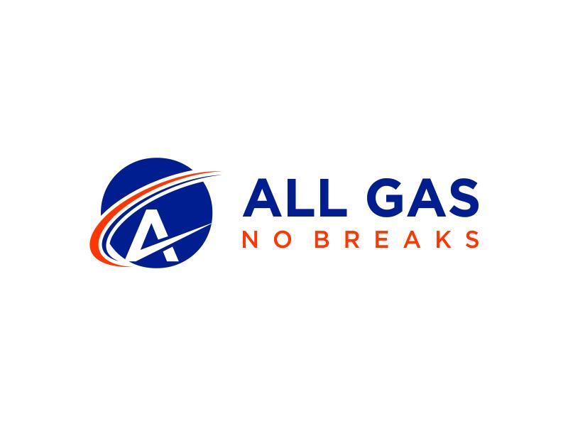 All Gas No Breaks logo design by santrie
