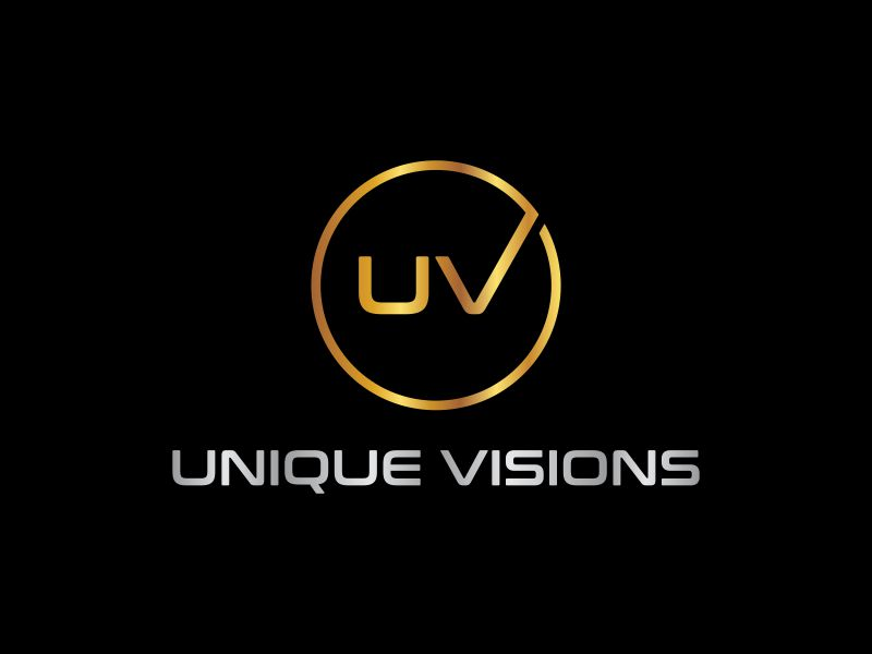 Unique Visions logo design by andayani*