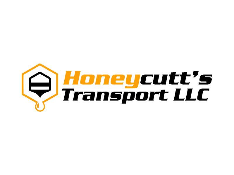 Honeycutt's Transport LLC logo design by Gwerth