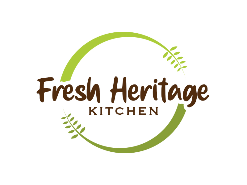 Fresh Heritage Kitchen logo design by kunejo