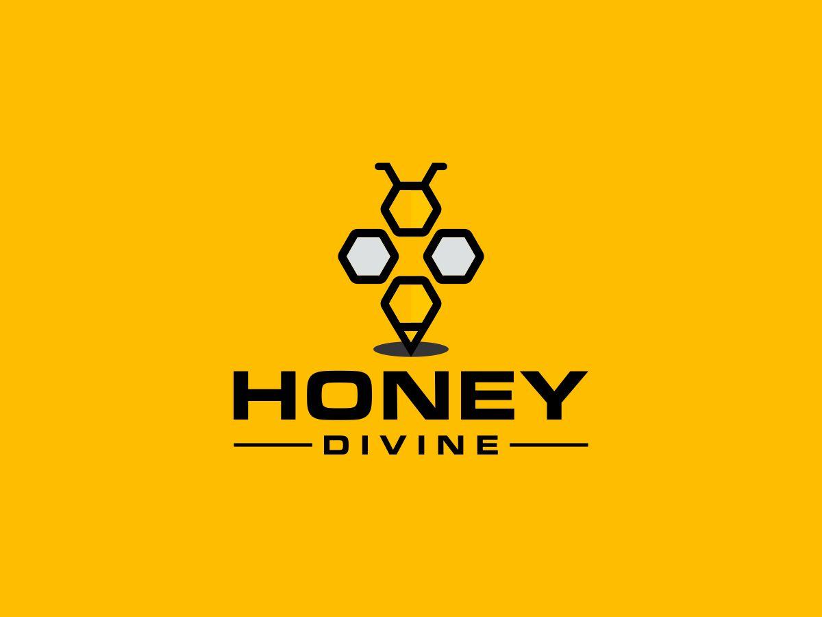 Honey Divine logo design by Thuwan Aslam Haris