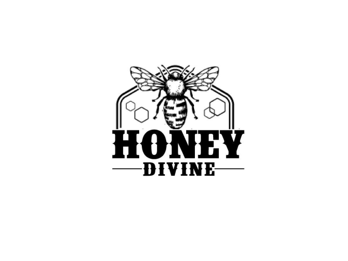 Honey Divine logo design by ElonStark