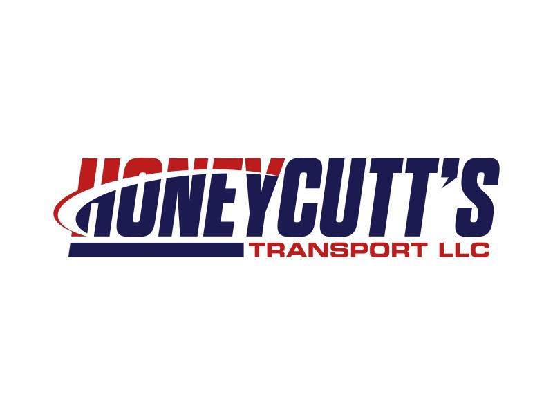 Honeycutt's Transport LLC logo design by ekitessar